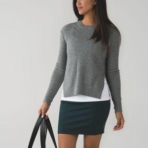 [Lululemon] Green &go Cityfarer Skirt